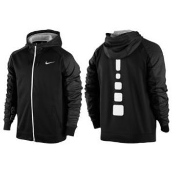 Nike Elite Stripe F/Z Performance Hoodie - Men's at Eastbay