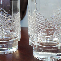 pair of Iittala Finland KUUSI double old by valeriesvintagehome