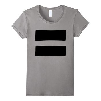 Equals Sign T-Shirt Equality Symbol Feminism Graphic Tee