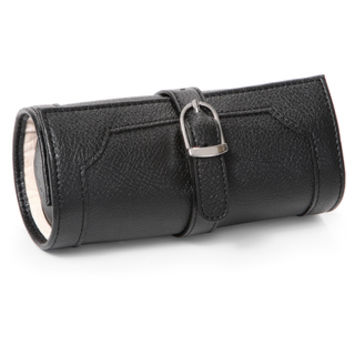 WOLF Queen's Court Leather Travel Jewelry Roll | Overstock.com Shopping - The Best Deals on Jewelry Rolls