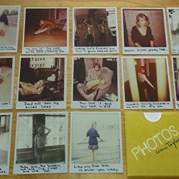 "Taylor Swift - Official ""1989"" Polaroid Set of 13 Photos (Photo #53 to #65)"