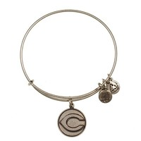 Alex and Ani Cincinnati Reds™ Cap Logo Charm Bangle - Russian Silver