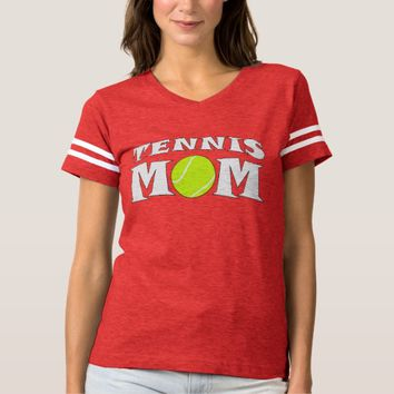Tennis Mom Custom Football-Style Jersey Shirt