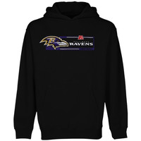 Baltimore Ravens Majestic Critical Victory VII Pullover Hoodie – Black