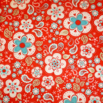 Riley Blake Designs Valentine Fabric, by The Quilted Fish, By the Yard, 43/44 Inches Wide, Red and Pink