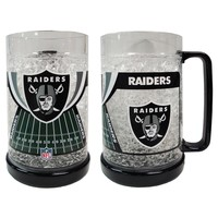 NFL -  Oakland Raiders Crystal Freezer Mug