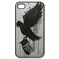 UVW hollywood undead Snap-on Hard Case Cover Skin compatible with Apple iPhone 4 4S 4G