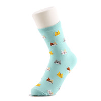 1Pair Hot Sale!!! New Fashion Cute 5 Colors Lady 1 Pair Animal Cat Pattern Cartoon Lovely Socks Gift