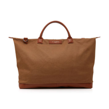 Hartsfield Large Leather-Trimmed Canvas Tote | Moda Operandi