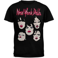 New York Dolls - Faces Soft T-Shirt