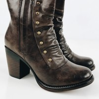 Catch These Vibes Bootie - Brown