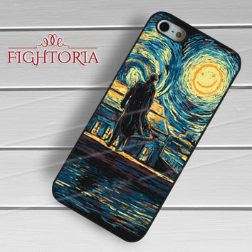 sherlock holmes starry night-1nay for iPhone 6S case, iPhone 5s case, iPhone 6 case, iPhone 4S, Samsung S6 Edge