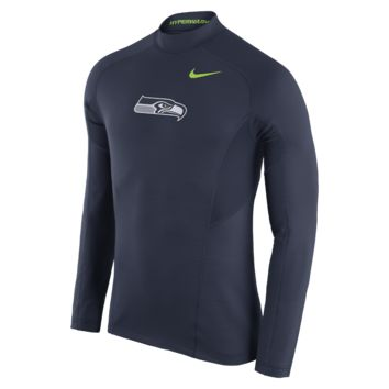 Nike Pro Hyperwarm Max Fitted (NFL Seahawks) Men's Training Top