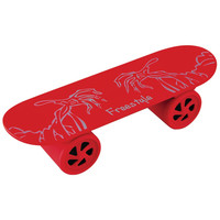 Sylvania Bluetooth Skateboard Speaker (red)