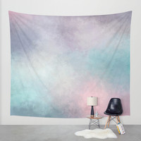 Dreaming in Pastels Wall Tapestry by CharmHappens