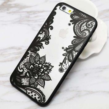 Sexy Lace Mandala Flower iPhone Case- Delightful Charm for Your Phone