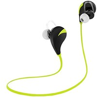 Partiss Unisex Sport Wireless Bluetooth 4.0 Stereo Earbuds Headphones RQ5 with In-Line Microphone