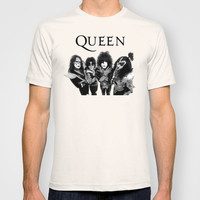 The Queen T-shirt by Bad Tees
