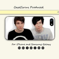 Dan and Phil,iPhone 5 case, iPhone 5C Case, iPhone 5S , Phone case, iPhone 4S , Case,Samsung Galaxy S3, Samsung Galaxy S4