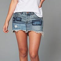 One Teaspoon Junkyard Denim Mini Skirt