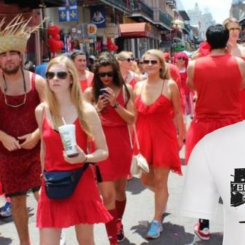 Red Dress Charity Pub Crawl April 21st Downtown Houston