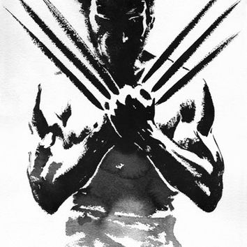 Wolverine One Sheet Poster