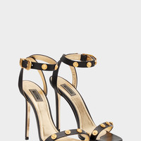 Versace Tribute Leather Sandals for Women | US Online Store