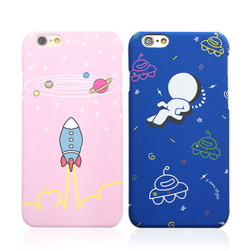 On Sale Hot Deal Cute Stylish Iphone 6/6s Korean Cartoons Apple Innovative Matte Phone Case [8153010375]