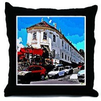 Budapest Throw Pillow	 Budapest street	 Good Afternoon