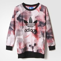 adidas Allover Print Pullover - Red | adidas US