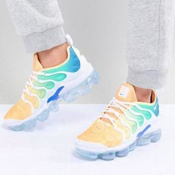 Nike Air Vapor max Plus Wave Type Leisure Transparent air cushion sole Sneskers Shoes