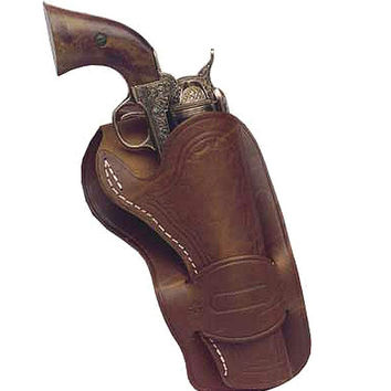 Mexican Leather Loop Holster - 4.75 Barrel