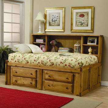 Black Mountain Big Bookcase Captain's Bed
