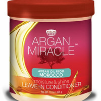 African Pride Argan Miracle Leave-In Conditioner 15 oz