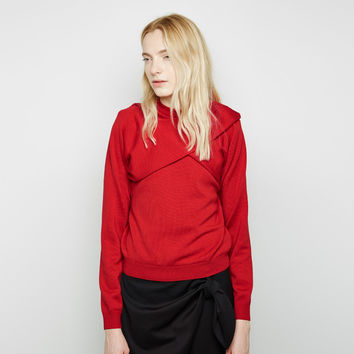 Wrap Sleeve Crewneck by J.W. Anderson