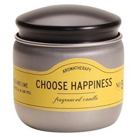 Choose Happiness Candle Tin