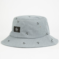Us Versus Them Awaken Mens Bucket Hat Grey