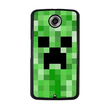 CREEPER MINECRAFT 2 Nexus 6 Case Cover