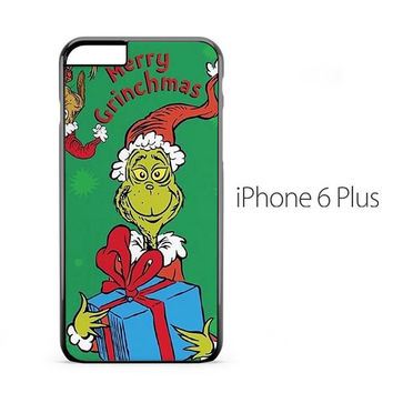 Merry Christmas Grinch iPhone 6 Plus Case