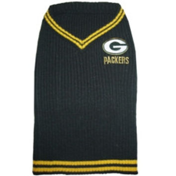 Green Bay Packers Pet Sweater SM