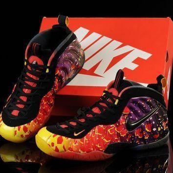 Tagre™ nike air foamposite one colorful basketball shoes us 5 5 13 number 1