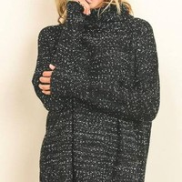 Cora Marled Knit Sweater