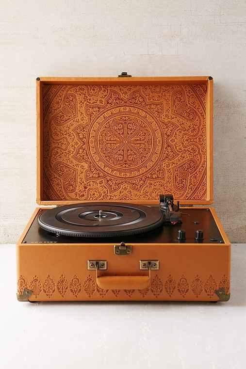 crosley x uo av room embossed portable from urban outfitters. Black Bedroom Furniture Sets. Home Design Ideas