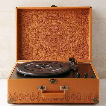 Crosley X UO AV Room Embossed Portable USB Vinyl Record Player