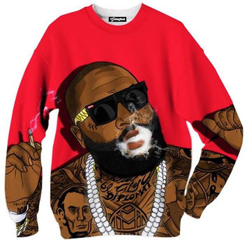 Rick Ross Smoking Crewneck
