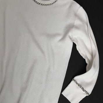 Rumble Studded Long Sleeve Thermal Shirt