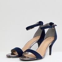 Oasis Barely There Heeled Sandals at asos.com