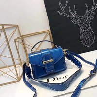Dior latest patent leather shoulder bag handbag
