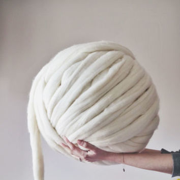 Super Chunky Knitting Merino Wool
