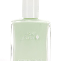 100% Pure Seafoam Creamy Light Green Nail Polish